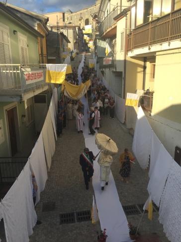 Festa di Corpus Cristi, from Rosa's front balcony